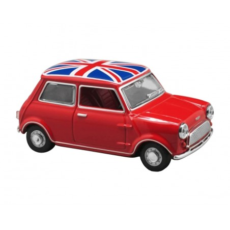 1/43 Mini Union Jack Tartan Red OXFORD