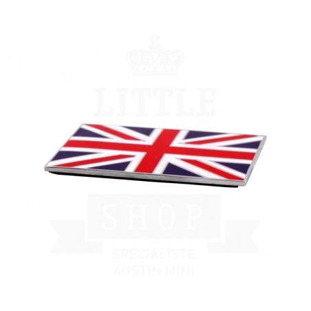 Badge drapeau anglais émail à coller - Austin Mini