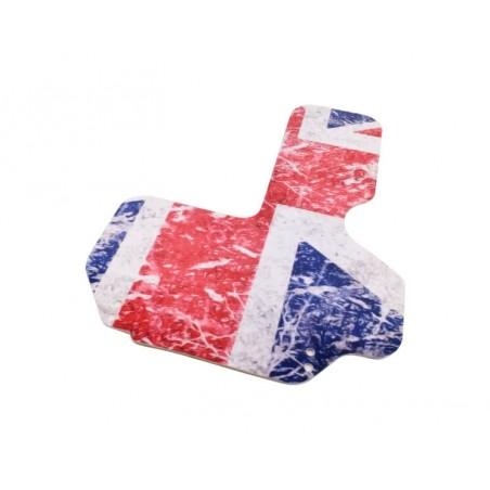 Plaque de protection allumage - Union Jack Old-Austin Mini