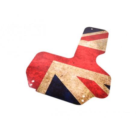 Plaque de protection allumage - Union Jack Grunge-Austin Mini
