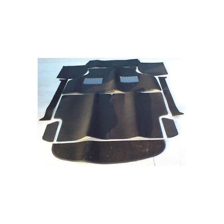 Kit moquette 10 pièces Luxe Noir-Austin Mini