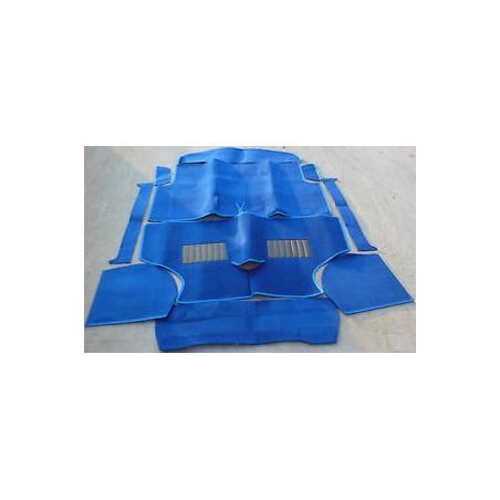 Kit moquette 10 pièces Luxe Bleu