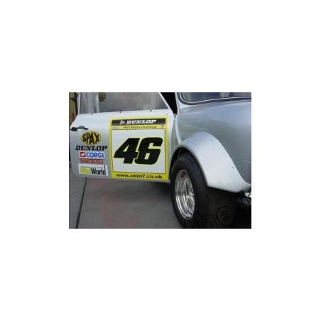 Extension d'aile Mini Miglia (kit fixation) - Austin Mini