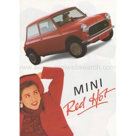 Kit Autocollant : Red Hot-Austin Mini