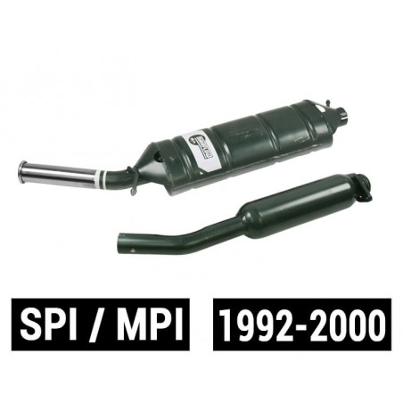 M10 Ligne échappement Maniflow SPI MPI silencieux simple sortie latérale + détente