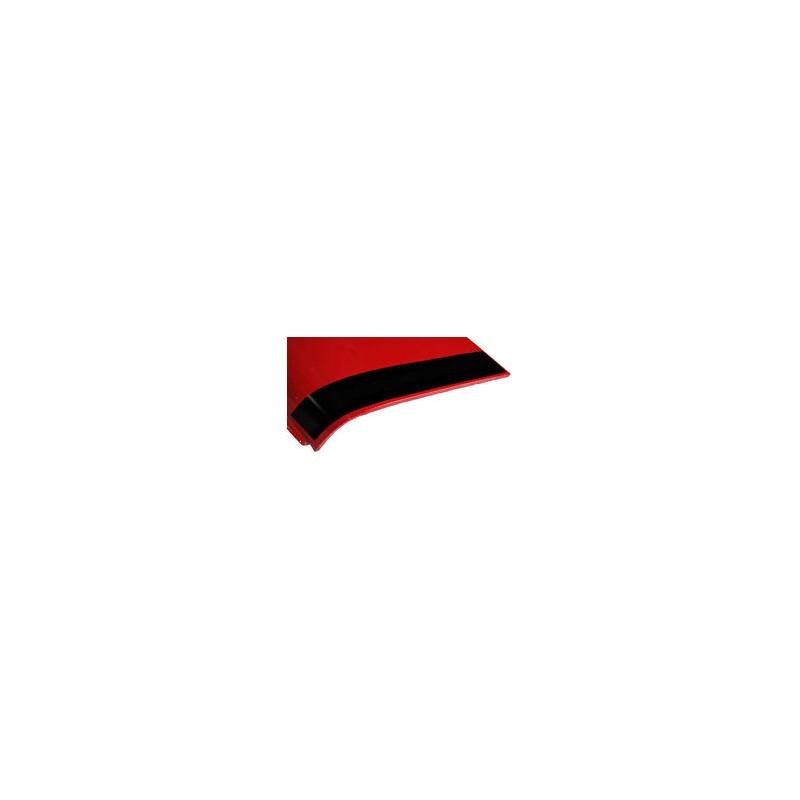 Bande de capot avant (la paire) : noir - Austin Mini