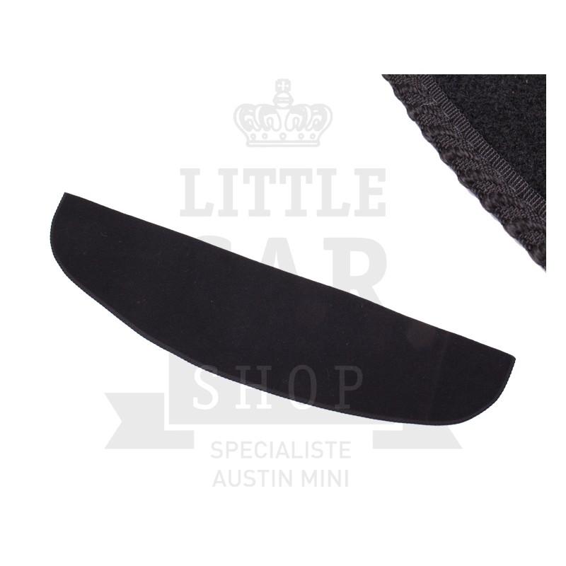 Plage Arrière (noir) liseré noir - Austin Mini