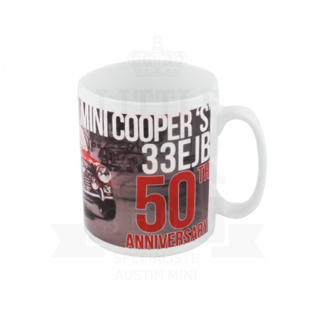 Mug Paddy Hopkirk Winner 50th Anniversary-Austin Mini