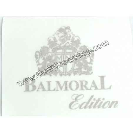 Kit Autocollant  : Balmoral - Austin Mini