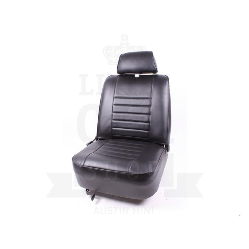 Garniture de siège Av en simili cuir - Noir-Austin Mini