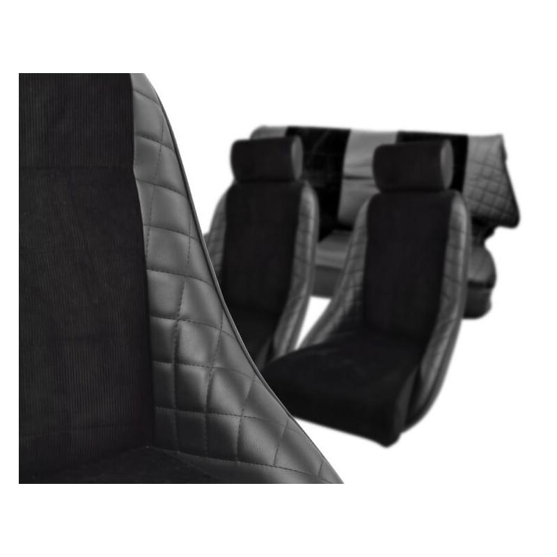Tlcs Khc Ca5 Kit Intérieur Complet Cobra Alpine Réplica Noir