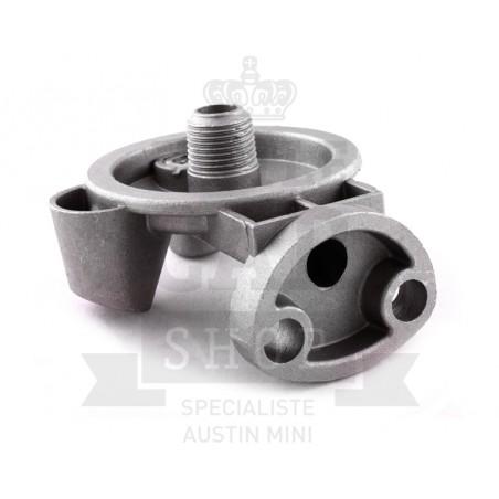 Support filtre à huile cartouche raccord 1/2 - Austin Mini
