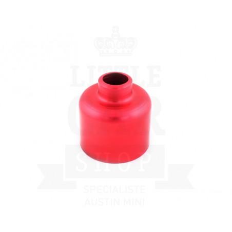 Couvre carburateur rouge (dashpot) HIF38/44-Austin Mini