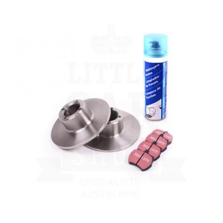 N°2 - Pack frein disques plaquettes Mini - PREMIUM