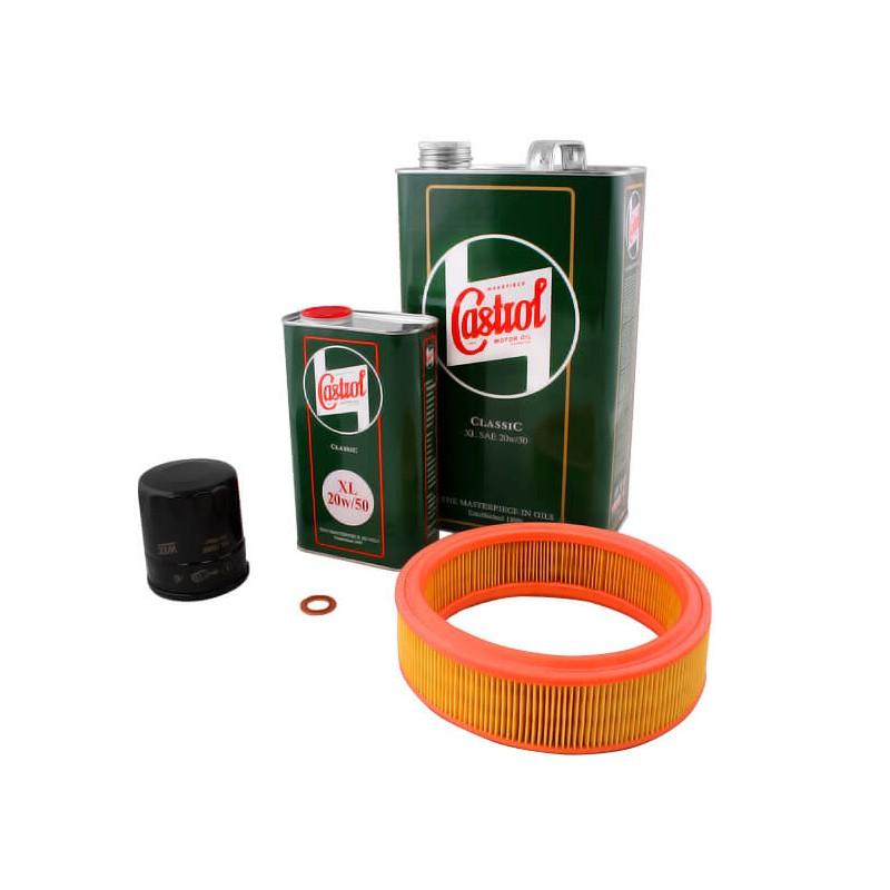 N°5 - Pack Vidange CASTROL 20w50 + Filtre air std-Austin Mini