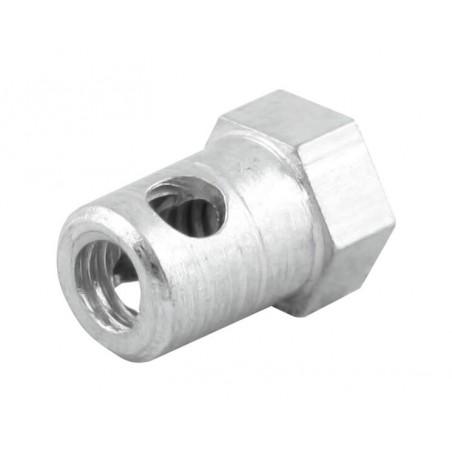 Serre câble traversant 6.3 mm sans vis