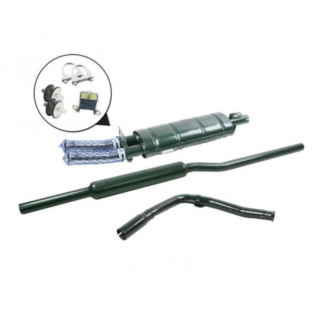 M2A - Ligne échappement Maniflow tube detente doubles sorties