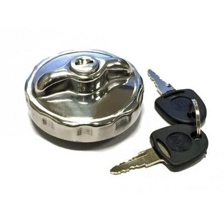 Bouchon de réservoir Old School Mod 1 (à clés)-Austin Mini