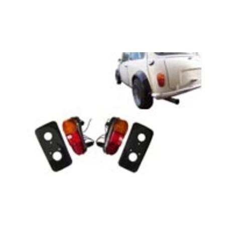 Kit feux Mk1 avec support à souder-Austin Mini