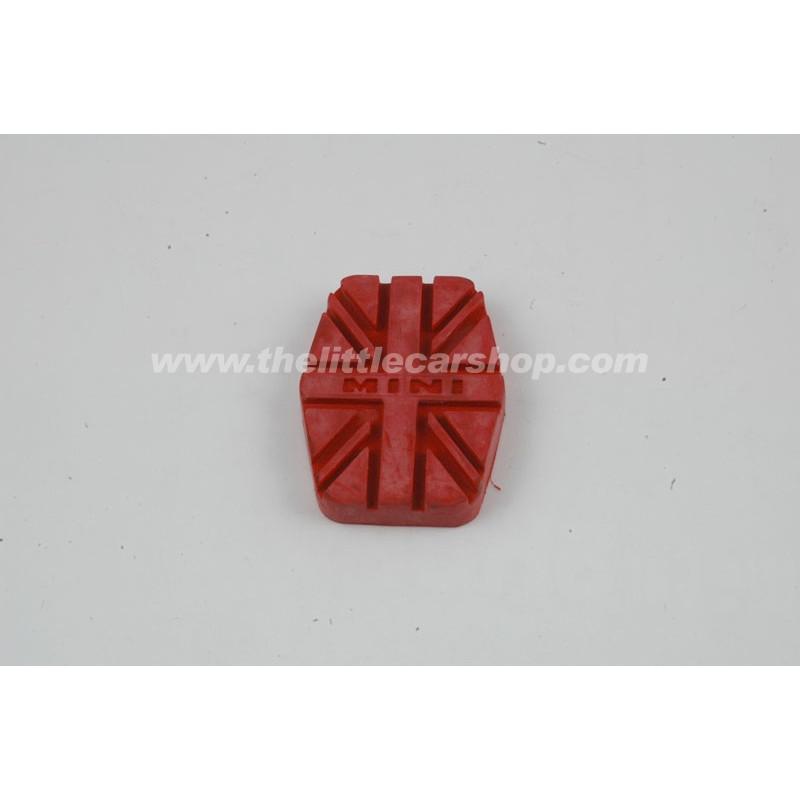Caoutchouc de pédale rouge UJ - Austin Mini
