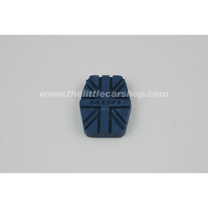 Caoutchouc de pédale bleu UJ - Austin Mini