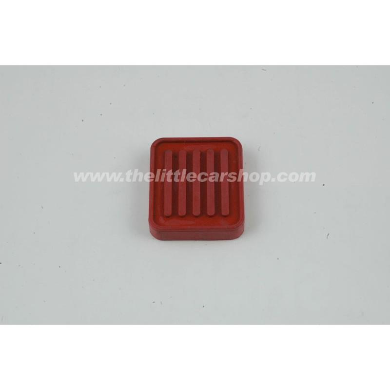 Caoutchouc de pédale accélérateur rouge - Austin Mini
