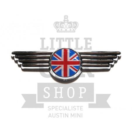 Badge de capot et de malle Union Jack - Austin Mini-austin-mini