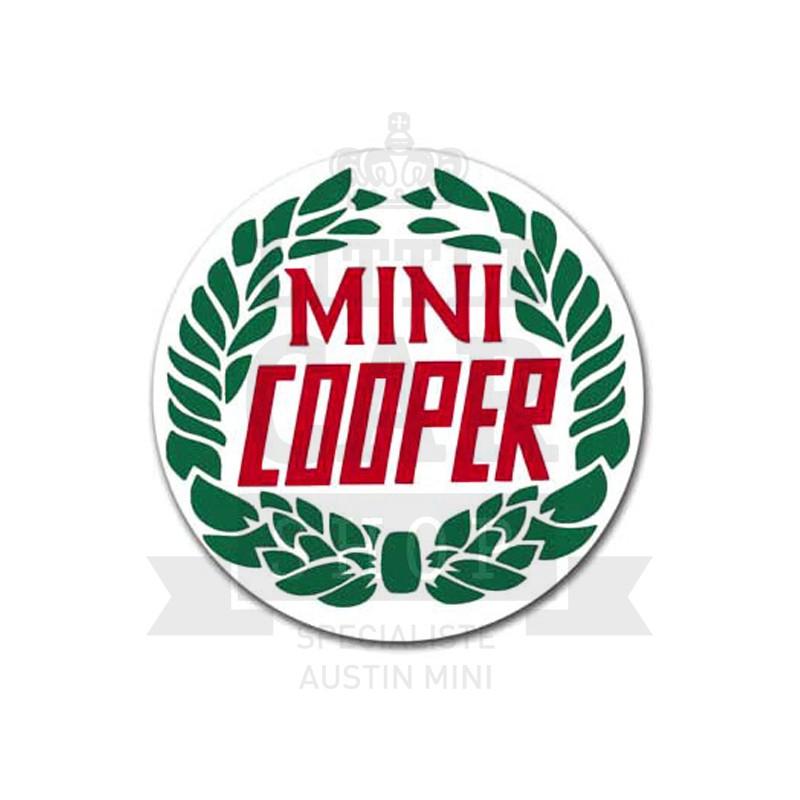 Autocollant rond Rover Cooper (50 mm) ORIGINE - Austin