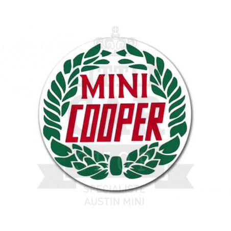 Autocolant rond Rover Cooper  (50 mm) ORIGINE - Austin Mini