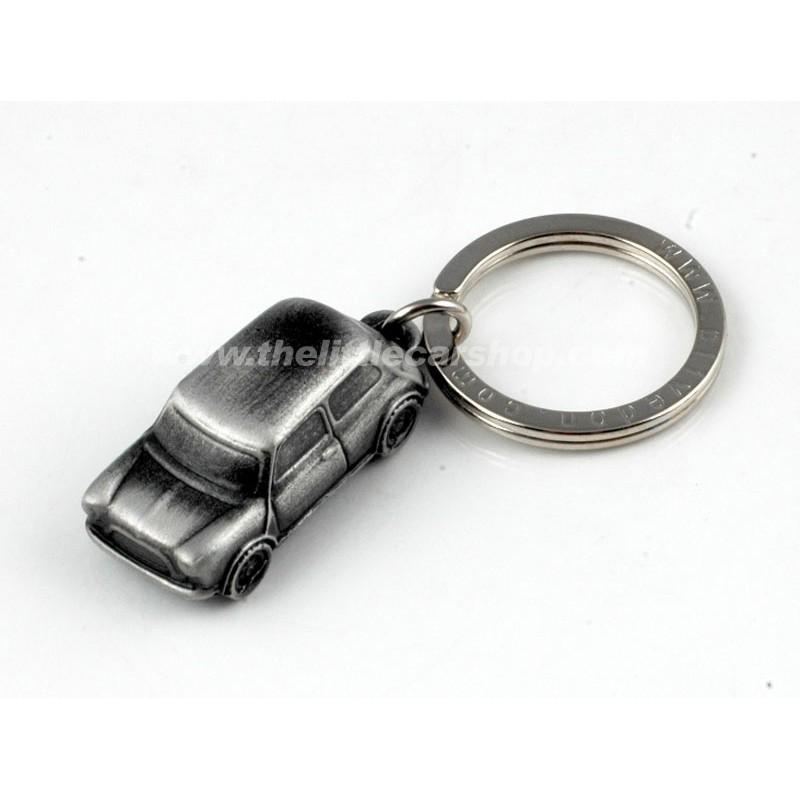 Porte clés Mini 3D en étain - Austin Mini