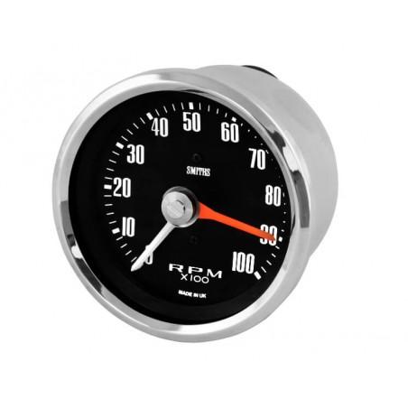Compte-tours Smith 0-100 RPM - 2 Couleurs au choix-Austin Mini