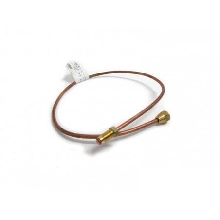 Tuyau de frein cuivre - liaison raccord flexible - Gauche