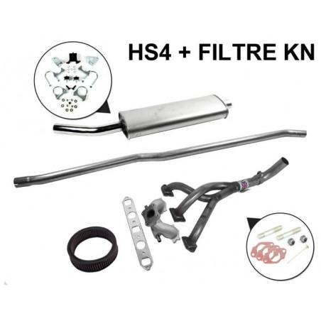 S1F - Kit Échappement Stage 1 RC40 Freeflow avec Sortie