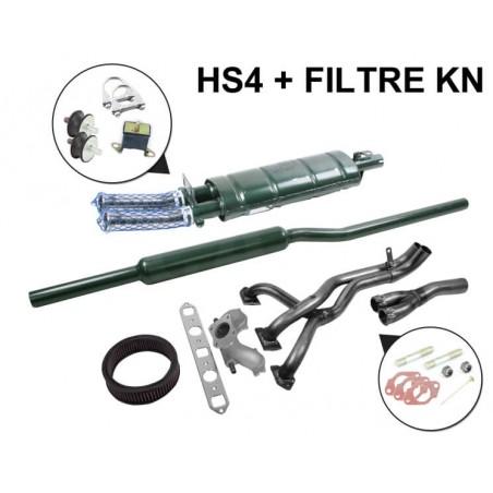 SM3A - Kit Échappement Stage 1 Maniflow LCB avec Double Sortie
