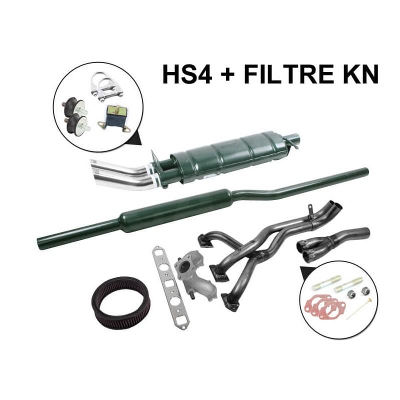 SM5A - Kit Échappement Stage 1 Maniflow LCB avec Double Sortie