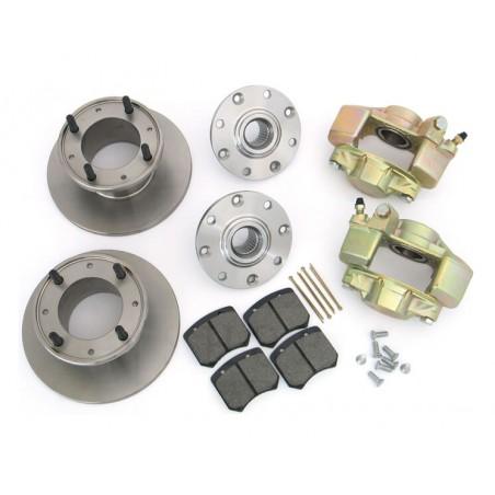 N°6 - Pack frein conversion disques 12'' en 10'' - Kevlar -