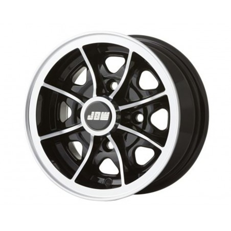 5 x 10 - Jante Dunlop - Noir-Austin Mini