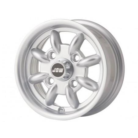 4.5 x 10 Jante Minilight - Gris-Austin Mini