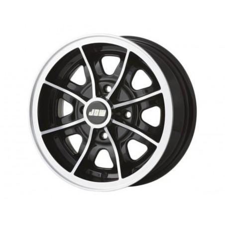 5 x 12 - Jante Dunlop - Noir-austin-mini