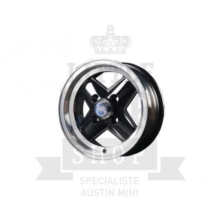 5 x 12 - Pack Jante Révolite - Noir-Austin Mini
