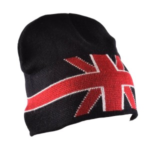 Bonnet motif Union Jack-austin-mini