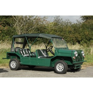Bache de toit MOKE UK MK1 avant 1968 - vert-austin-mini