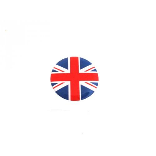 Autocollant rond Union Jack (20mm)-austin-mini