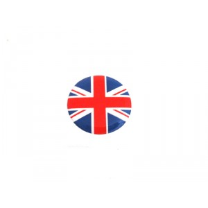 Autocollant rond Union Jack (20mm)-Austin Mini