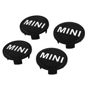 Lot 4 Cabochons Centres de Roues Logo Mini - Mini de 2001 à nos