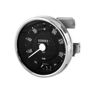 Compteur 0-140 Km h Smith - Noir-Austin Mini
