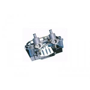 Rampe double HS2 - avec pipe et tringlerie (sans filtre à
