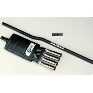 Silencieux Maniflow 4 Sorties Centrales + tube-Austin Mini
