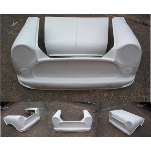 Flip front monobloc avec capot amovible-Austin Mini