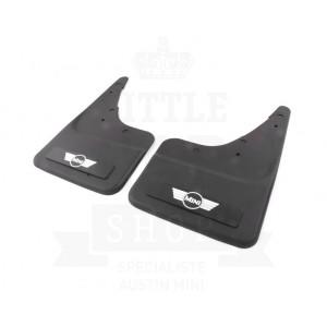 Bavette avec logo Mini Aile (paire) - ORIGINE-mg-mgb